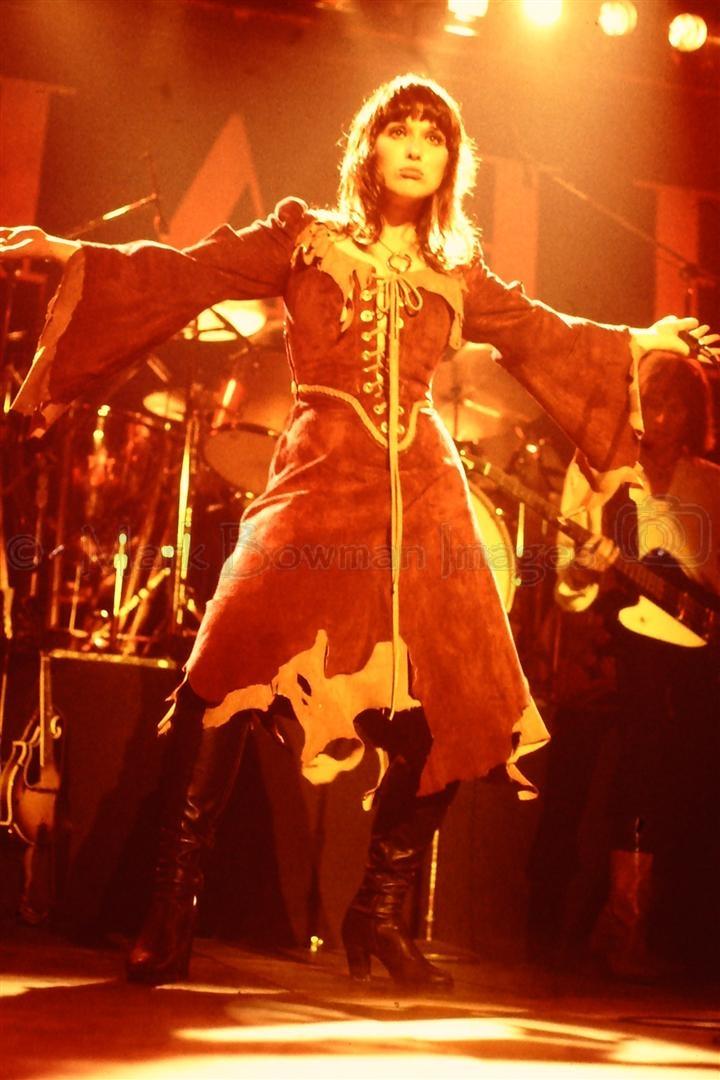 Ann Wilson 1977 Houston by Mark Bowman Images