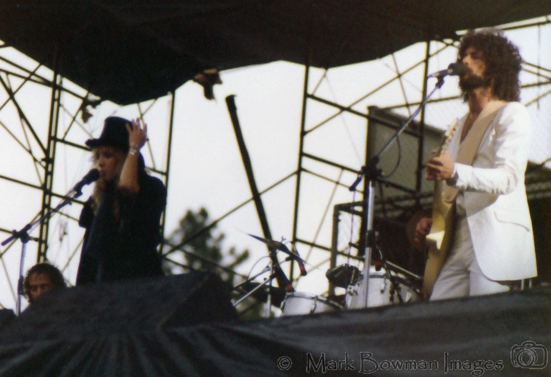Fleetwood Mac Rumours Tour Boulder Colorado 1977