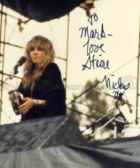 Stevie Nicks Boulder Co 1977 Mark Bowman Images