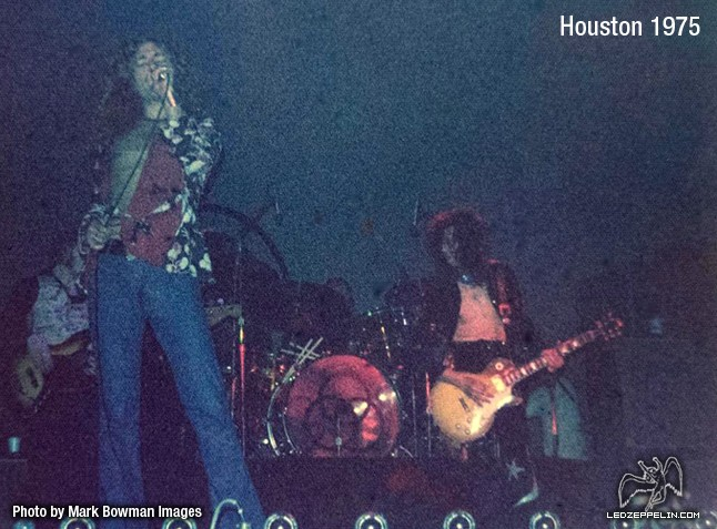 Led Zeppelin - Houston 1975 (4 new ones....) - Photos ...