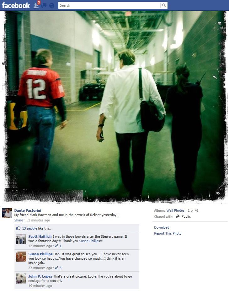 Dante Facebook Page