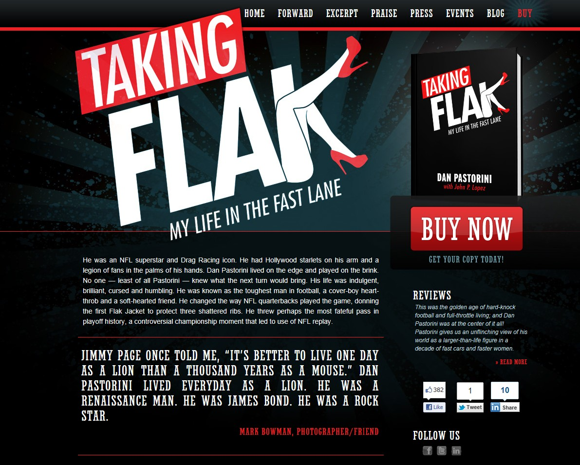 Taking Flak Bowman Quote Nov 2011