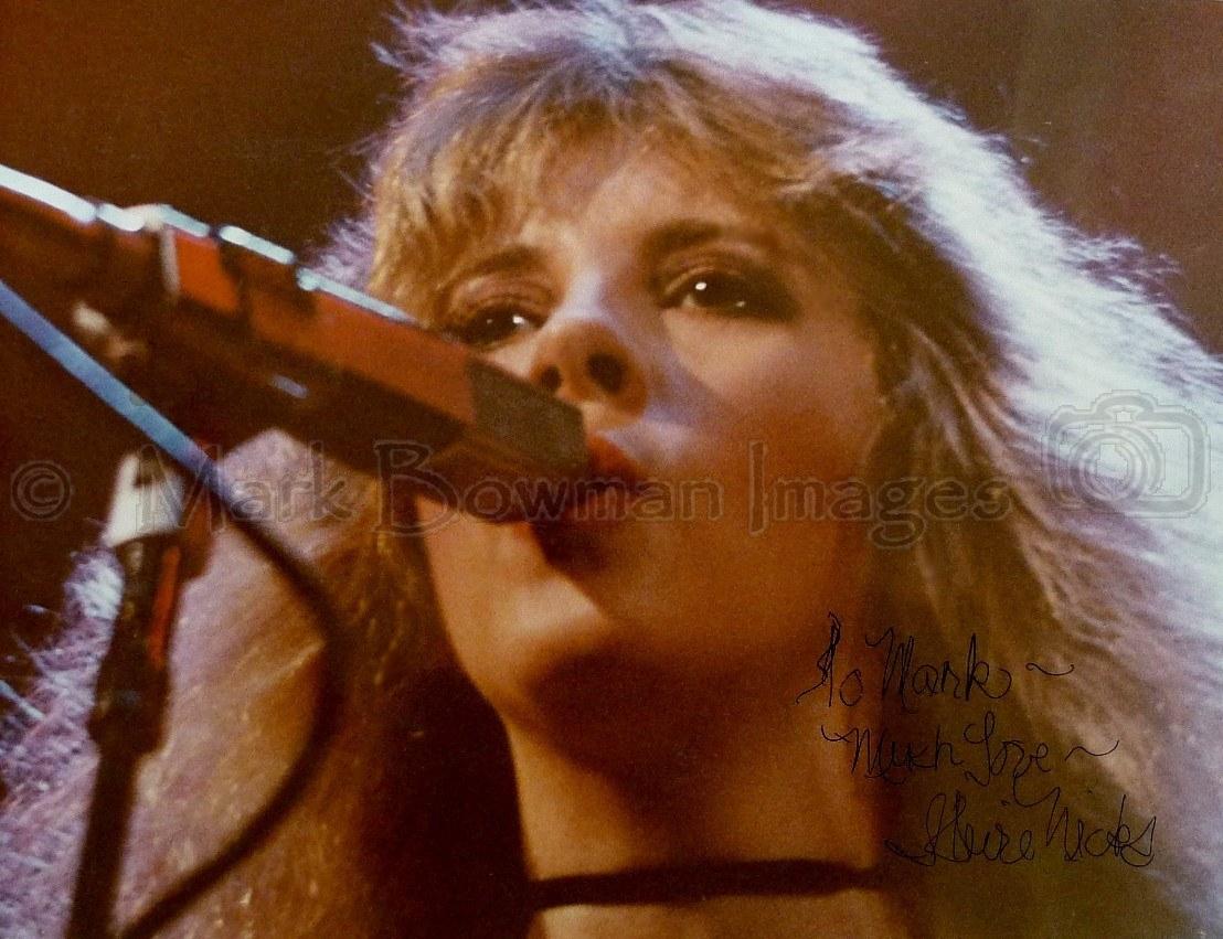 Stevie Nicks Live In Austin Halloween 1982 Mark